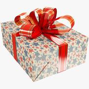 Christmas Present V8 3d model