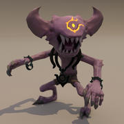 Minion creature demon 3d model
