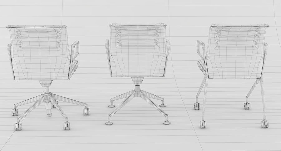 AC 5 Chair Studio - Meet - Swift royalty-free 3d model - Preview no. 21