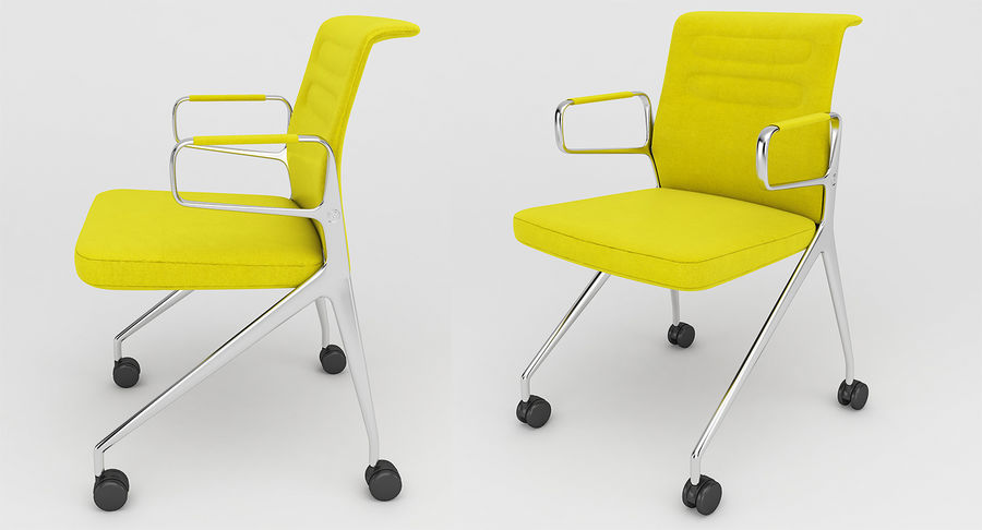 AC 5 Chair Studio - Meet - Swift royalty-free 3d model - Preview no. 5