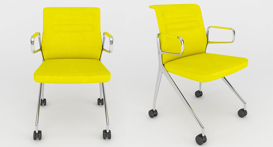 AC 5 Chair Studio - Meet - Swift royalty-free 3d model - Preview no. 2