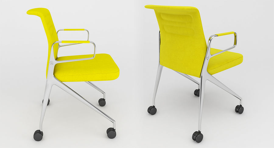 AC 5 Chair Studio - Meet - Swift royalty-free 3d model - Preview no. 3