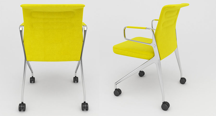 AC 5 Chair Studio - Meet - Swift royalty-free 3d model - Preview no. 4