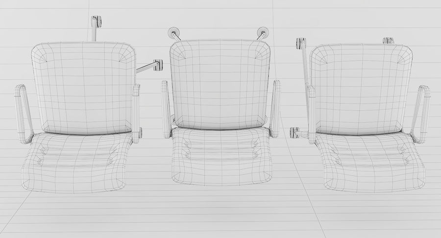AC 5 Chair Studio - Meet - Swift royalty-free 3d model - Preview no. 22