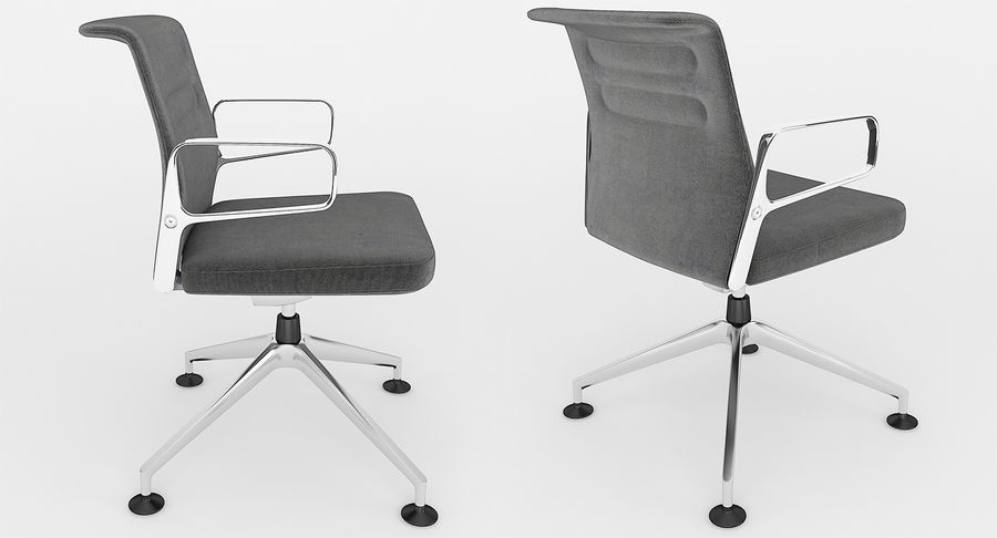 AC 5 Chair Studio - Meet - Swift royalty-free 3d model - Preview no. 7