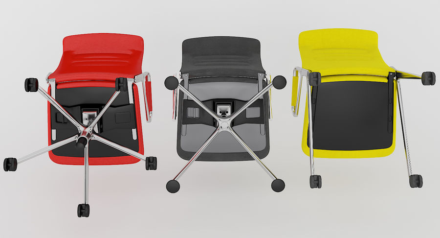AC 5 Chair Studio - Meet - Swift royalty-free 3d model - Preview no. 11