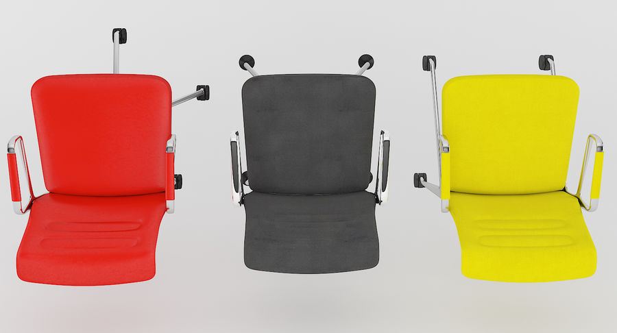 AC 5 Chair Studio - Meet - Swift royalty-free 3d model - Preview no. 10