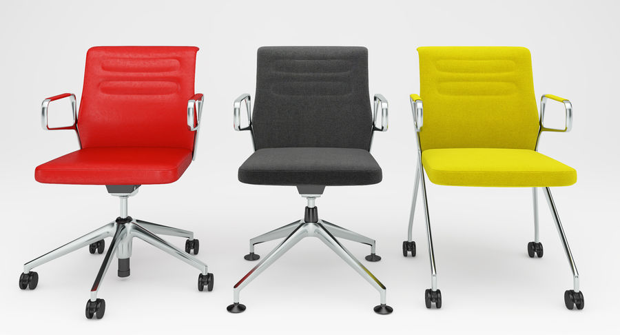 AC 5 Chair Studio - Meet - Swift royalty-free 3d model - Preview no. 15