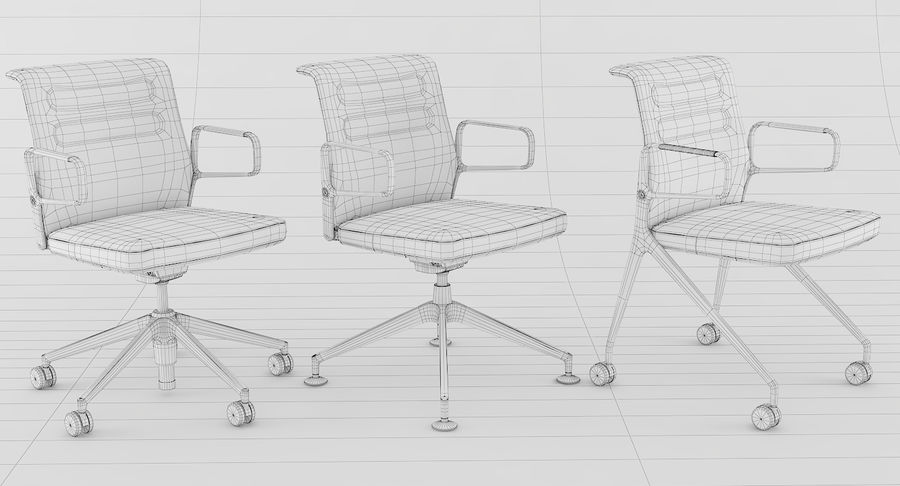 AC 5 Chair Studio - Meet - Swift royalty-free 3d model - Preview no. 19