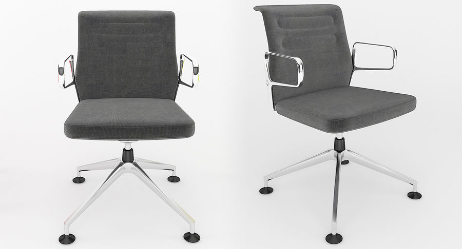 AC 5 Chair Studio - Meet - Swift royalty-free 3d model - Preview no. 6