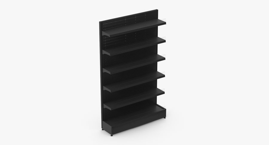 Shelving royalty-free 3d model - Preview no. 12