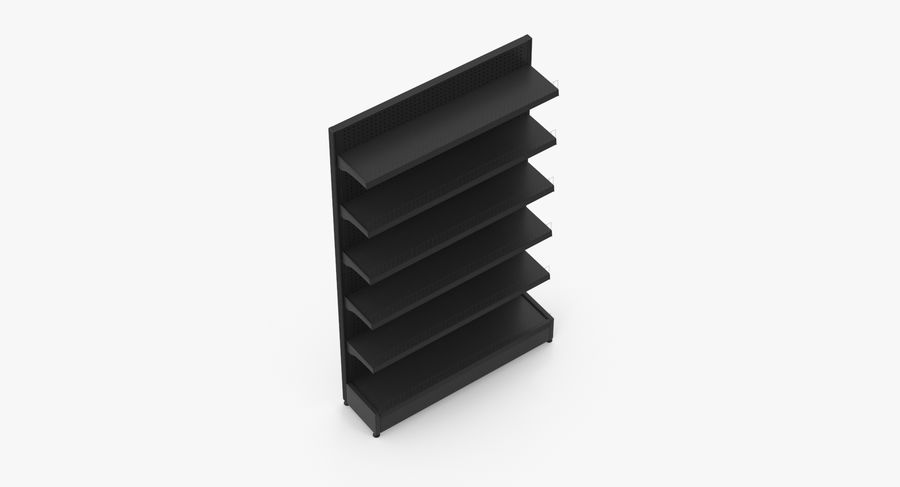 Shelving royalty-free 3d model - Preview no. 8