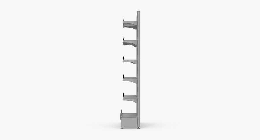 Shelving royalty-free 3d model - Preview no. 93