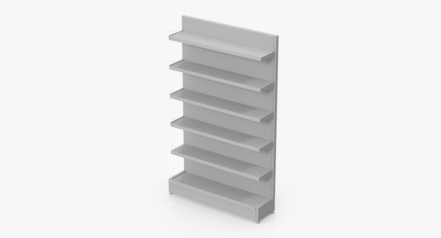 Shelving royalty-free 3d model - Preview no. 71