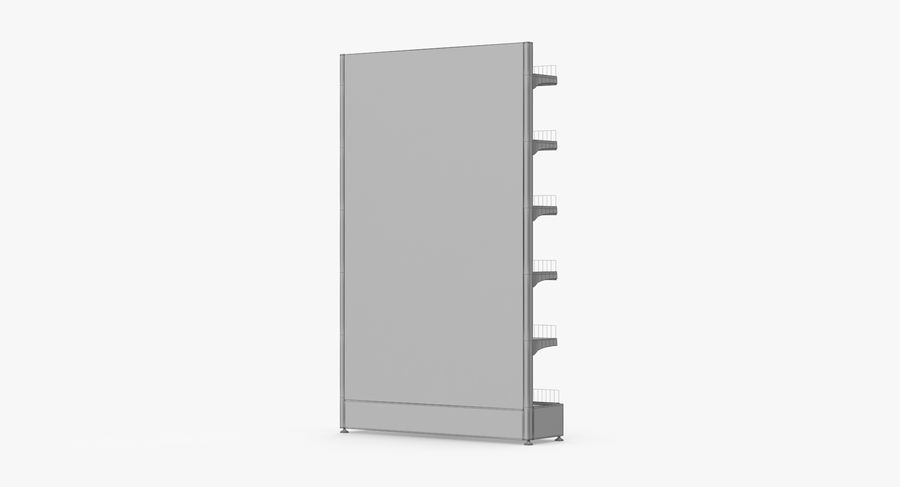 Shelving royalty-free 3d model - Preview no. 84