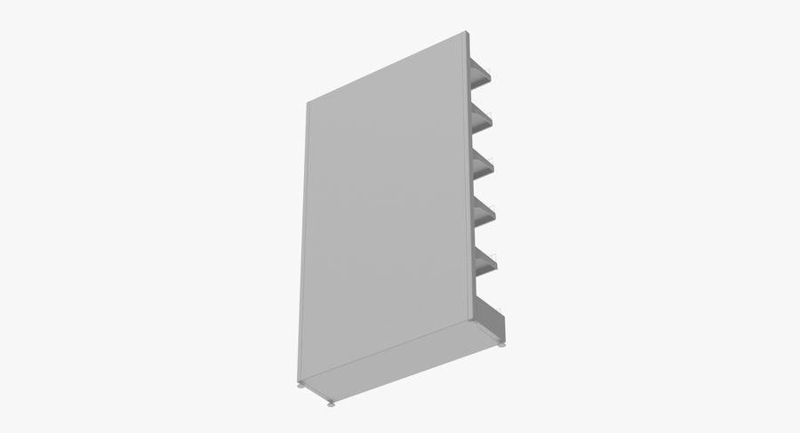 Shelving royalty-free 3d model - Preview no. 101