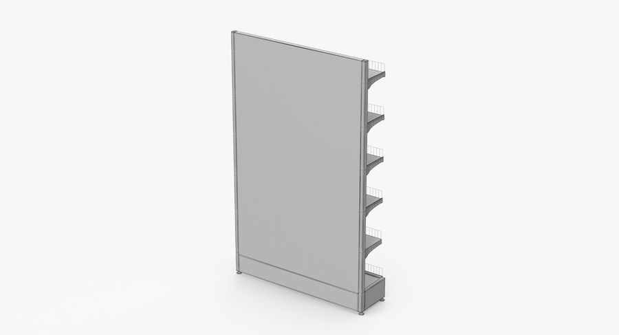 Shelving royalty-free 3d model - Preview no. 66