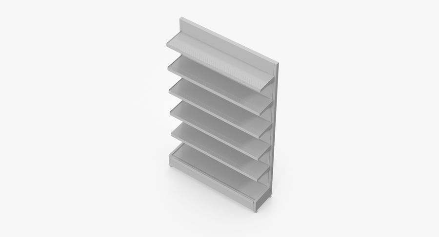 Shelving royalty-free 3d model - Preview no. 59
