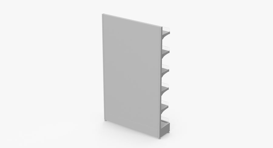 Shelving royalty-free 3d model - Preview no. 65