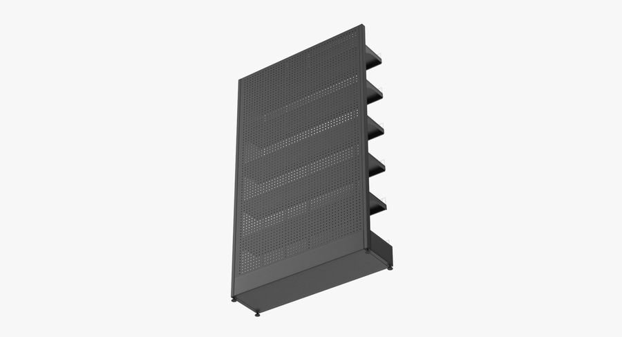 Shelving royalty-free 3d model - Preview no. 24