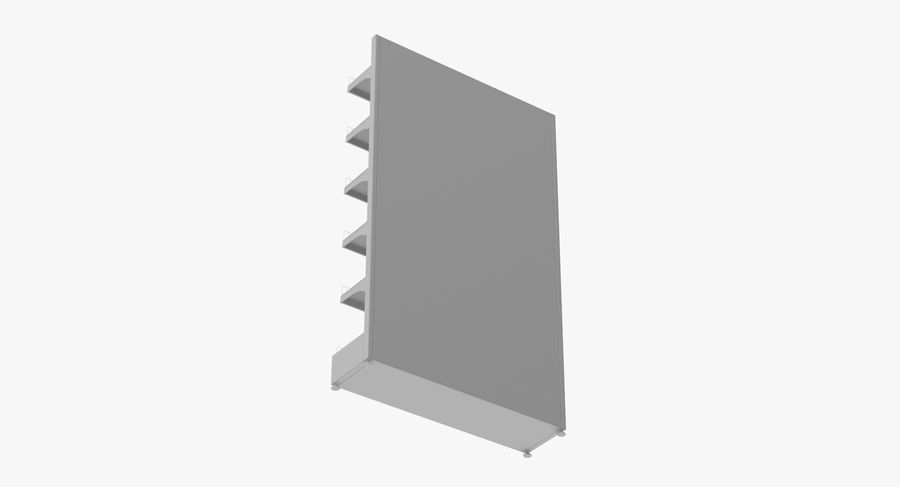 Shelving royalty-free 3d model - Preview no. 104