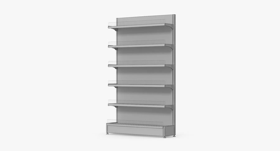 Shelving royalty-free 3d model - Preview no. 96