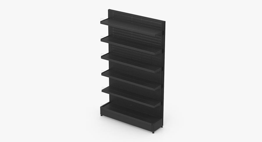 Shelving royalty-free 3d model - Preview no. 15