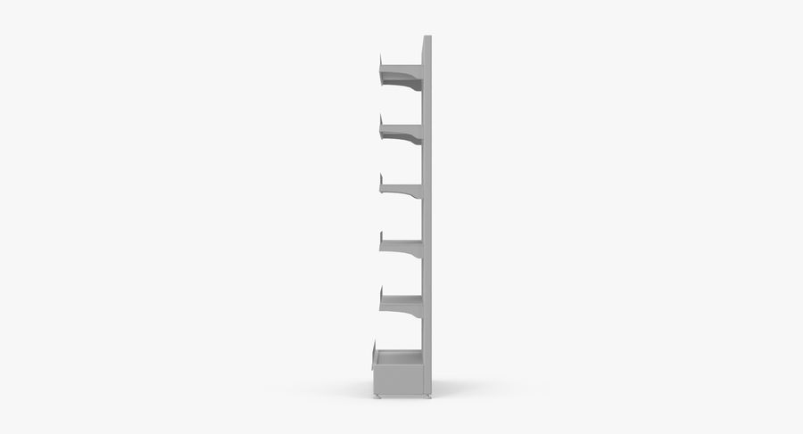 Shelving royalty-free 3d model - Preview no. 92