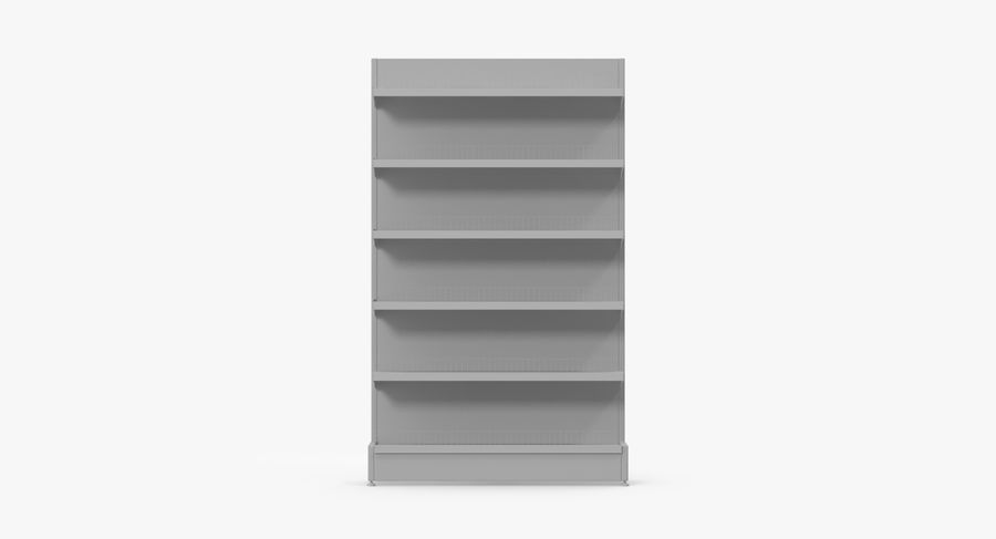 Shelving royalty-free 3d model - Preview no. 74