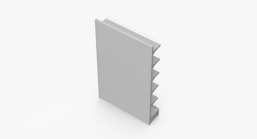 Shelving royalty-free 3d model - Preview no. 53