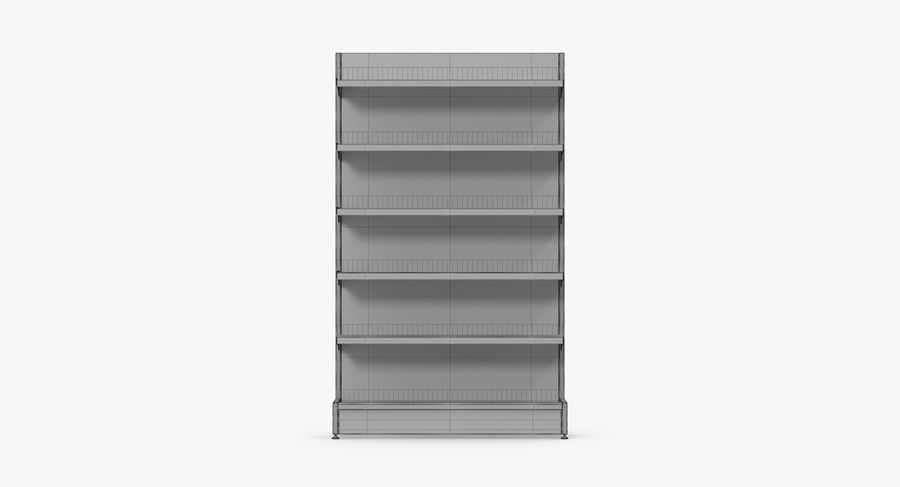 Shelving royalty-free 3d model - Preview no. 76