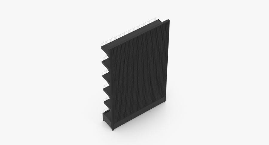 Shelving royalty-free 3d model - Preview no. 10