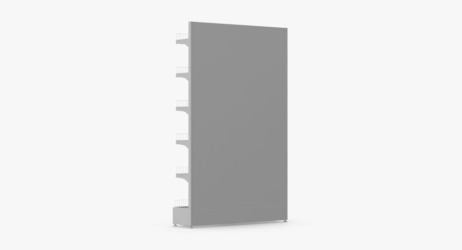 Shelving royalty-free 3d model - Preview no. 89