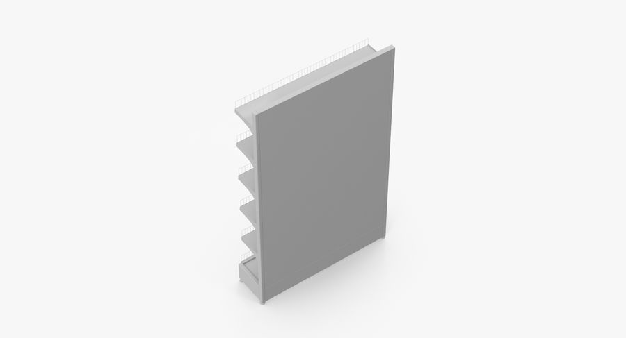 Shelving royalty-free 3d model - Preview no. 56