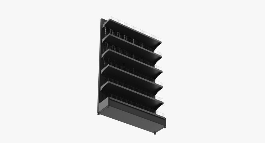 Shelving royalty-free 3d model - Preview no. 23