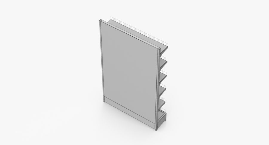 Shelving royalty-free 3d model - Preview no. 54