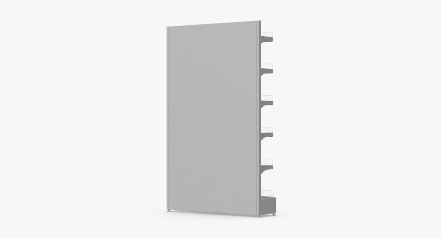 Shelving royalty-free 3d model - Preview no. 83