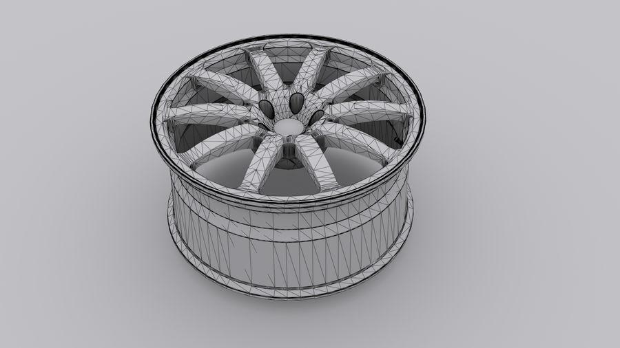 Vehicle Rim royalty-free 3d model - Preview no. 6