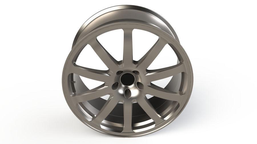 Vehicle Rim royalty-free 3d model - Preview no. 4