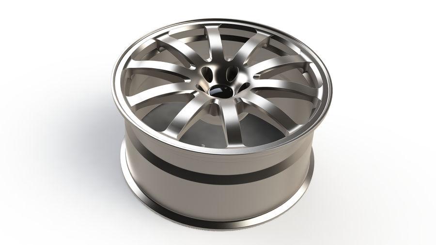Vehicle Rim royalty-free 3d model - Preview no. 5