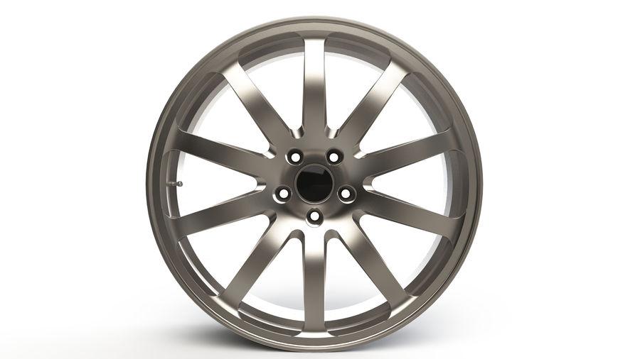 Vehicle Rim royalty-free 3d model - Preview no. 2