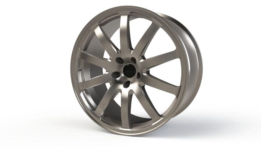 Vehicle Rim royalty-free 3d model - Preview no. 3