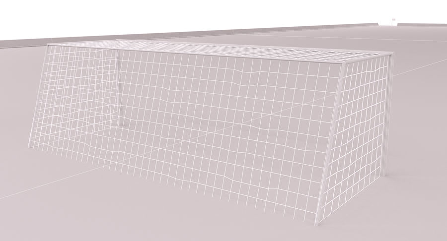 Soccer Field royalty-free 3d model - Preview no. 15