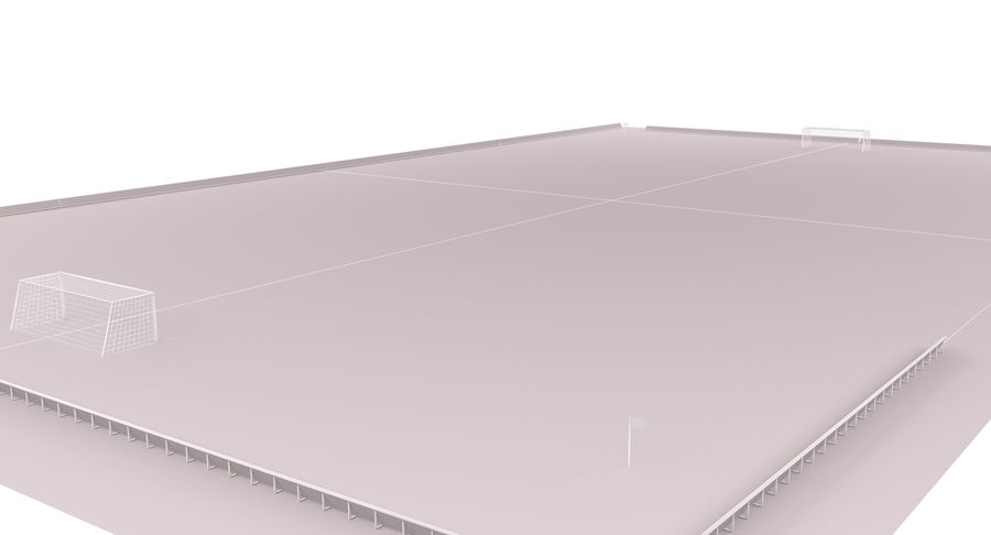 Soccer Field royalty-free 3d model - Preview no. 14