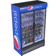 Pepsi Beverage Fridge 3d model