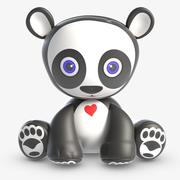 Spielzeug Andy Panda 3d model