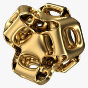 Gyroid astratto 3d model