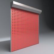garage dörr elektriska rullgardiner 3d model