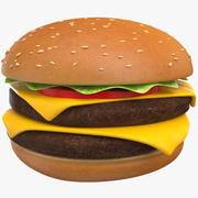 Hamburger Burger Sandviç 3d model