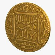Pièce islamique 3d model